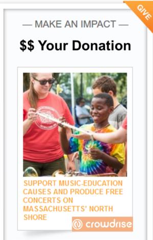Salem Jazz and Soul Festival Crowdrise Campaign