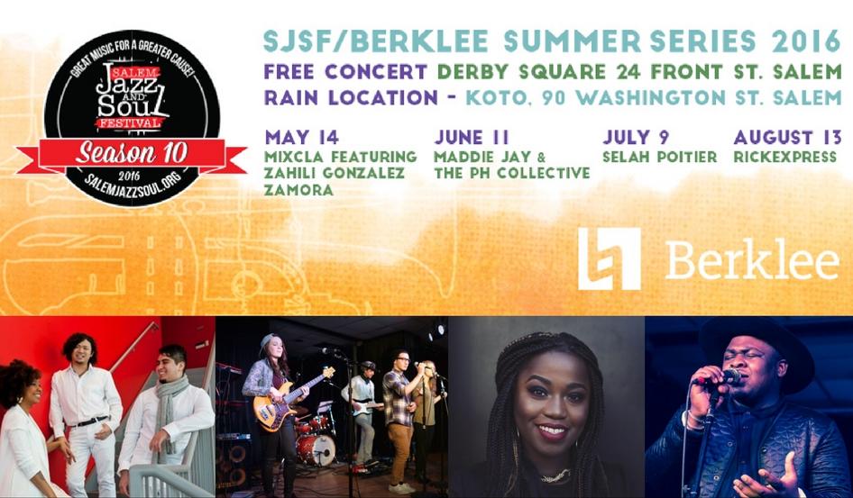 2016 SJSF/Berklee Summer Series