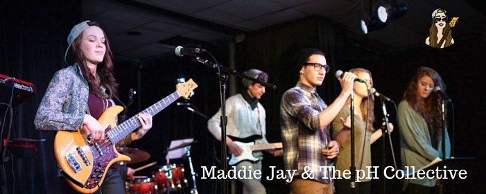 Maddie Jay & the pH Collective press release web header