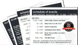 2016 Salem Jazz and Soul Festival Program