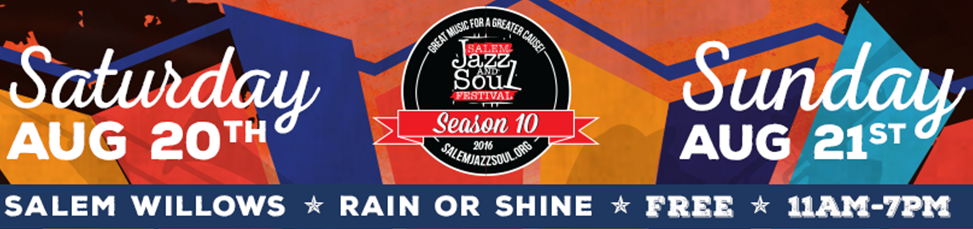 2016 Salem Jazz and Soul Festival Main Event 8/20 & 8/21