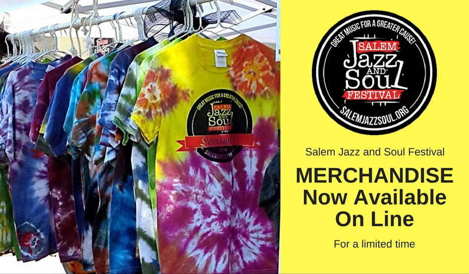 Salem Jazz and Soul Festival Merchandise available on line